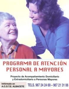Programa de Atención Personal a Mayores